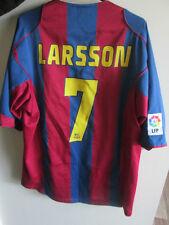 2005-2006 Barcelone Larsson 7 home football shirt taille XL camiseta / 34658