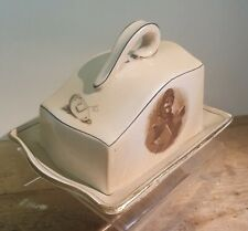 "Bruce Bairnsfather ""Old Bill"" Royal Winton Butter Dish."