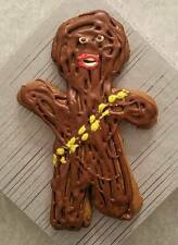 Chewbacca Star Wars Gingerbread Man - Original Handmade Real Cookie - Unique!