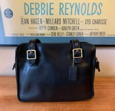 Coach 9163 Black Leather Legacy Purse Classic Shoulder Handbag Purse Vintage