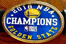 GOLDEN STATE WARRIORS 2018 Commerative NBA Championship  Buckle - NEW