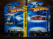 HOT WHEELS 2 Pack - Ferrari 250 LM & 1966 TV Batmobile + 2007 NEW MODEL XHTF LOT