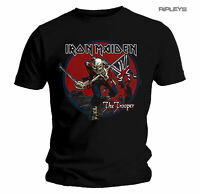 Official T Shirt Iron Maiden  The Trooper RED SKY Eddie All Sizes