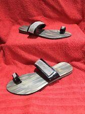 Ladies Flat Summer Sandals Size 8