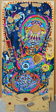 Bally - Circus Voltaire - Pinball Playfield Nos - Priced @ $400 (Clear Coat 00004000 ed)