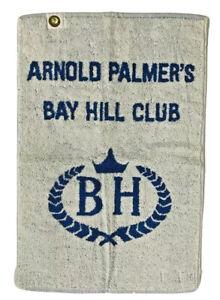 "Vtg Arnold Palmers Bay Hill Club Blue Golf Towel 16x24"" Martex Quality Textiles"