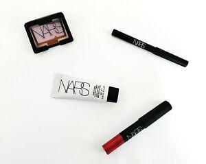 NARS 4 piece deluxe sampler primer, bronzing powder, eyeliner, lip pencil