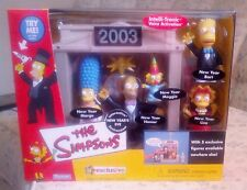 Simpsons New Year's Eve Interactive Environment by Playmates Toys