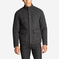 Bonobos Banff Charcoal Quilted Jacket Size Small