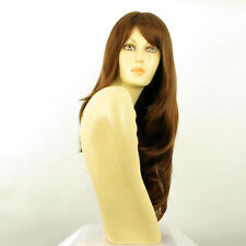 length wig for women golden coppery brown ref WENDY 30 PERUK