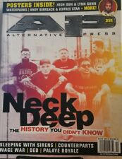 Alternative Press Oct 2017 Neck Deep History You Didn't Know FREE SHIPPING mc