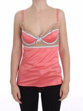 Roberto Cavalli Underwear Pink Camisole Top Blouse Tank S. It46 / US L