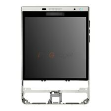 For Blackberry Passport Silver Edition LCD Screen And Touch With Frame Assembly