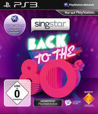 Sony PS3 Playstation 3 Spiel ***** Singstar Back to the 80's *********NEU*NEW*55