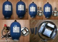ALTECNIC POTABLE WATER EXPANSION VESSEL 2 Litre BLUE BRACKET KIT & VALVE OPTIONS