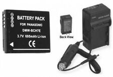 Battery + Charger for Panasonic DMC-FP3 DMC-FP3AA