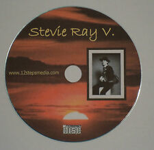 Stevie Ray V Vaughan  AA ALCOHOLICS ANONYMOUS CD SPEAKER TAPE FREE SHIPPING RARE