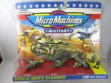 Vintage NIP Galoob Micro Machines #18 War Classics World War II Plane car 7000