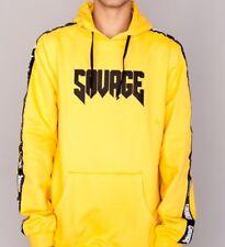 costo moderado comprar baratas cupón doble Sudadera con capucha de hombre amarillo | Compra online en eBay