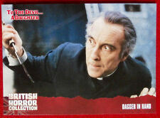 BRITISH HORROR COLLECTION - To The Devil A Daughter - DAGGER IN HAND - Card #49