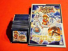 Upper Deck-YU-GI-OH GX serie 3 - 50 SACCHETTI + ALBUM-album vuoto - 250 Sticker