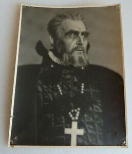 Groß Foto-Autogramm Karl Wüstenhagen deutscher Schauspieler 1935 (74806)