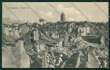 L'Aquila Collarmele Terremoto cartolina QQ4000