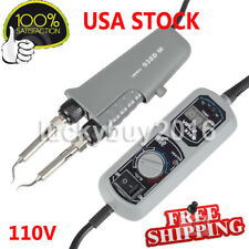 1PCS Only YIHUA 938D Portable Hot Tweezers Mini Soldering Station 110V/220