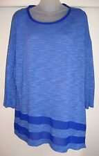 Pretty Bright Blue Avenue Top, Sz 18/20, Easy Fit, Lightweight Material