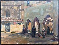 Fernand Salkin (1862-1937)-Marseille-Villeneuve-les-Avignon-Grivolas-Provence