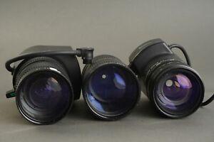 3x TV zoom lens. Including Minolta TV Zoom rokkor