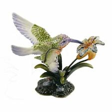 Tresured Trinkets Animals Die Cast Collectable Metal Trinket Boxes with Gift Box