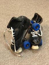 Vintage BETTY LYTLE HYDE Chicago Custom Adult 5R Indoor Roller Skates Black