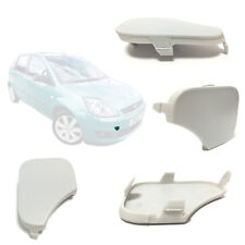 FRONT BUMPER TOWING EYE COVER *PRIMED* FITS FORD FIESTA MK5 2005 to 2008
