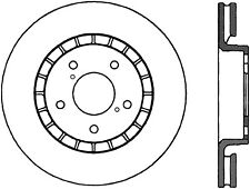 Disc Brake Rotor-RWD Front Right Stoptech 125.44137CRY