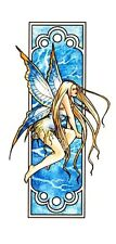 SEXY ART NOUVEAU WINTER FAERY WICCA FAIRY STICKER/VINYL DECAL Selena Fenech