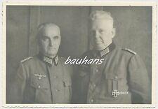 Foto-Portrait Offiziere Wehrmacht  EK1   2.WK (d618)