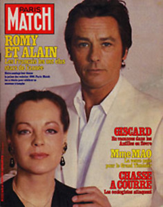 Paris Match n° 1650 du 9 janvier 1981 - Romy Schneider & Alain Delon