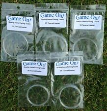 9 Foot Knotless Tapered Leaders For Fly Fishing Various Sizes - NEW IN PACKETS