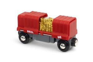 BRIO 33938 Container - Goldwaggon