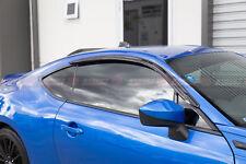 Toyota 86 & Subaru BRZ 12-19 Slimline Window Visors / Weathershields Set (2PCS)
