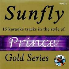 Sunfly karaoke gold-prince & the revolution cd + g cdg cd disc sfgd 022