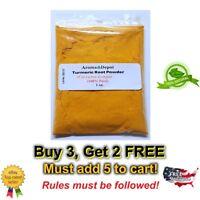 1 oz. Tumeric Turmeric Root Powder Curcuma longa  Indian Pure Organic Spice