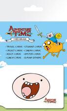 Hora De Aventura caras Niños Caricatura Soporte de tarjeta Cartera De Viaje De Ostra