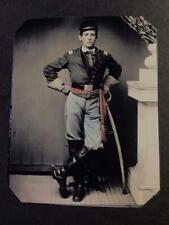 Sixth-Plate Civil War Soldier Tintype C2358RP
