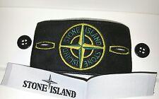 Genuine Stone Island Nuovo di Zecca distintivi con etichette e lucida i pulsanti @sale @
