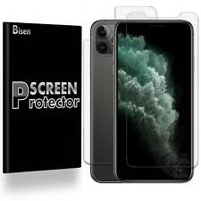 [2-PACK BISEN] Clear FULL BODY Screen Protector Guard Shield For iPhone 11 Pro