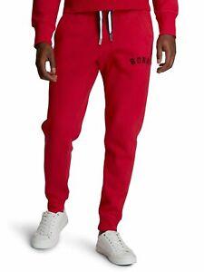 BJORN BORG Sport Men's Track Pants Joggers Bottoms Red