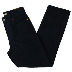 Levi's Womens Wedgie Straight Navy Crop Snug Classic Straight Jeans 25 BHFO 2350