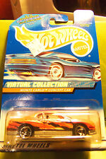 Hotwheels Hot Wheels Pearl Pink Monte Carlo Error Tampo Concept Car Virtual Coll